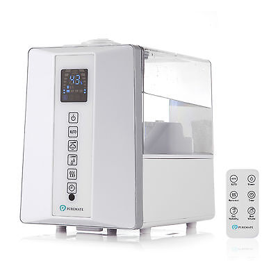 PureMist PM 840 Digital Ultrasonic Cool & Hot Mist Humidifier with aromatherapy