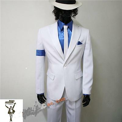 Michael Jackson Smooth Criminal Jacket+ Pant+ Shirt+Tie !!!