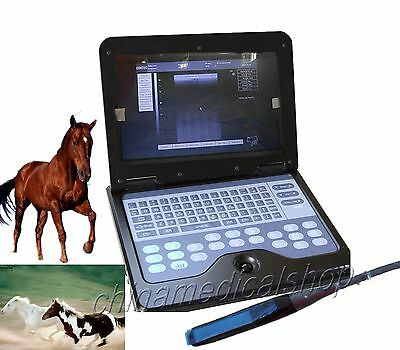 NEW VET Veterinary Laptop Ultrasound Scanner Machine 7.5mhz Rectal linear probe
