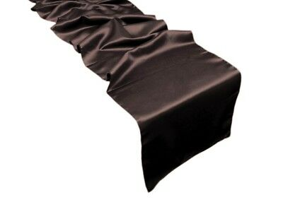"""30 LAMOUR MATTE SATIN 12x108"""" Table RUNNERS Wholesale Wedding Party Decoration"""