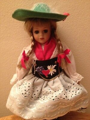 Vintage porcelian doll from Poland