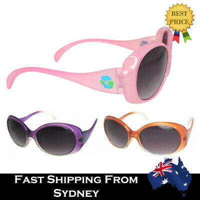 G&G Kids Accessory Wavy Girls Sunglasses Purple Pink Orange 100% UV Protection