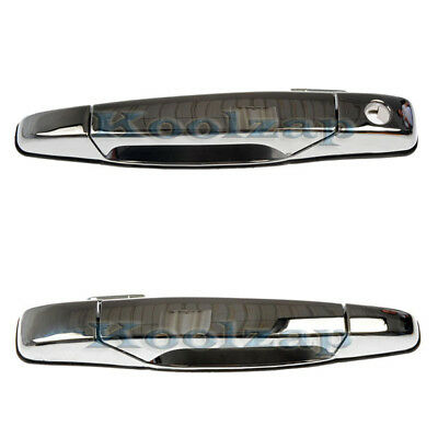 Chevy/GMC Pickup Truck Chrome Front Outside Outer Door Handles Pair Left + Right