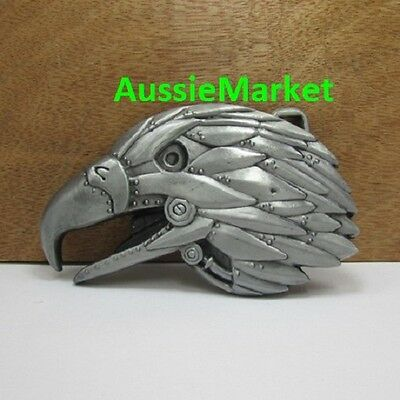1 x mens belt buckle quality metal alloy jeans eagle bird christmas gift new usa