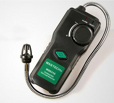 MASTECH MS6310 Combustible Flammable Gas Leak Detector Tester Alarm 50ppm
