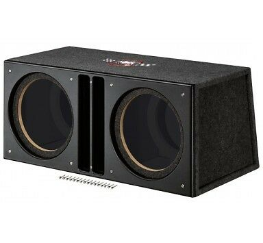 Caisson MTX Audio Bass-Reflex SLH12x2u 30cm