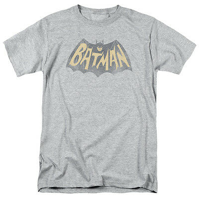 Batman Classic 60's TV Show Logo Vintage Style Licensed Tee Shirt Adult S-3XL