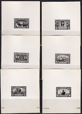 #q1-Q12 Complete Set Of 12 B.e.p. Photo Die Proofs From Archives Wl4267 Rsju14