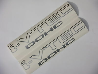 03-10 CIVIC I-VTEC DOHC DECAL. jdm oem sir k20 rsx fa5 fit accord type r sticker