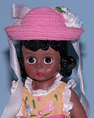 "Madame Alexander resin doll ""Spring Morning"" #90441  Easter egg hunting"