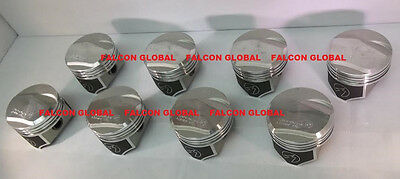 Speed Pro/TRW Chevy 396 Forged +21cc Dome Coated Pistons Set/8 325/350HP STD