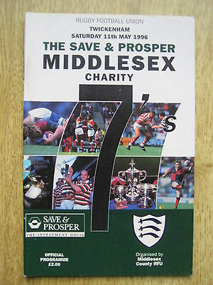 Middlesex Sevens 1996 Rugby Programme