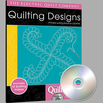 QUILTMAKER QUILTING DESIGNS Volume 4 Software NEW CD