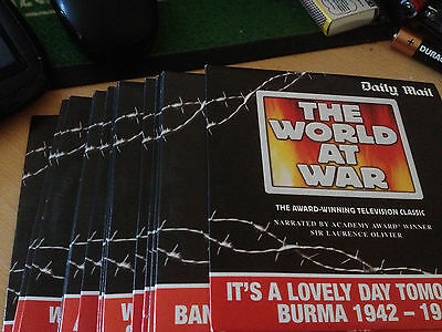 The World At War Daily Mail Dvd Set - Complete Your Set!