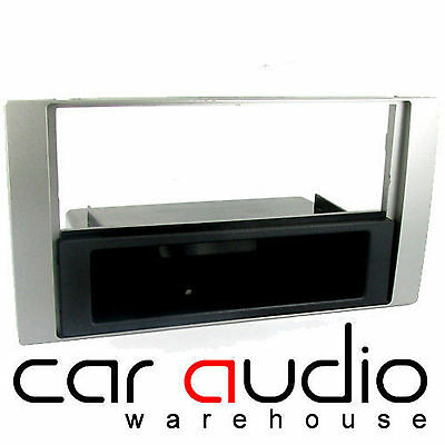 Ford Focus C-Max 2004-2011 Car Stereo Double Din Fascia Panel D//GREY CT24FD41