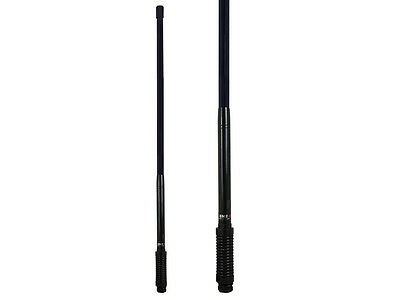 GME AE4701B 2.1DBI BLACK LIght DUTY UHF CB RADIO ANTENNA BULL BAR FIBREGLASS
