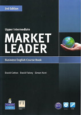 Longman MARKET LEADER Upper-Intermediate 3rd Ed Course Book with DVD-ROM @NEW
