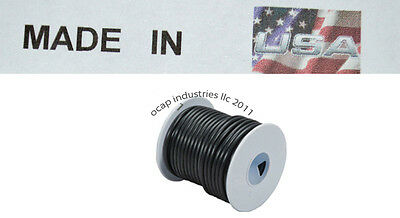 Trailer Light Cable Wiring Harness 14 Gauge 100' Wire Roll Black Camper USA WIRE