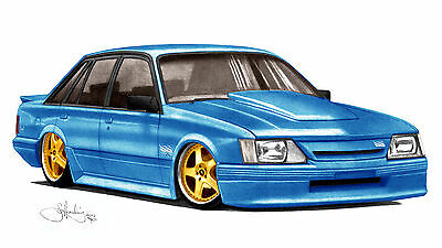 Holden  Vk  Group A  'Ss'   Brock Commodore    Limited Edition