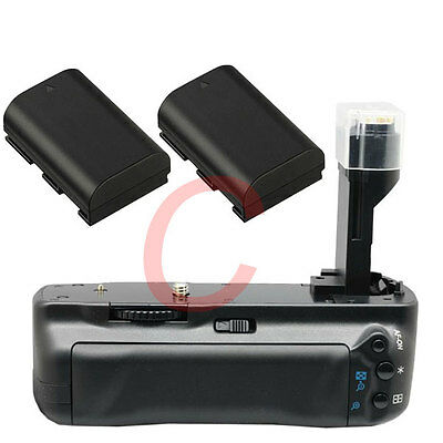 Pro Battery Grip for Canon 5D MARK II BGE6 with 2x LP-E6 for canon 5DII Camera