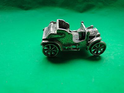 MINIATURE STERLING SILVER  800 VINTAGE CAR MADE IN ITALY CIRCA 1960