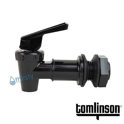 Tomlinson Spigot Water Crock Replacement Spigot Faucet Dispenser Valve BLACK USA