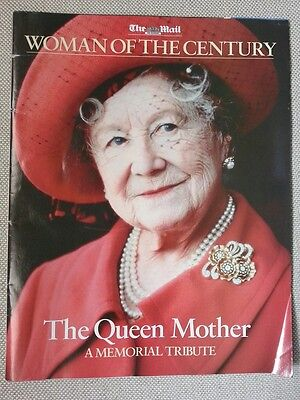 Daily Mail Tribute Queen Mother 52 page Colour Magazine & Newspaper Reprint