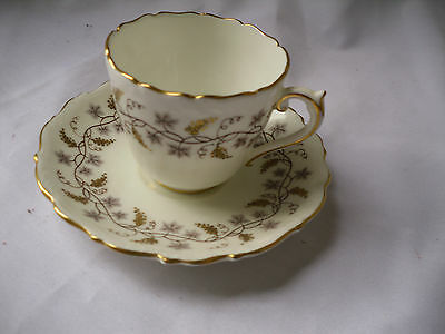 Vintage Coalport Minerva Bone China Demitasse Cup And Saucer