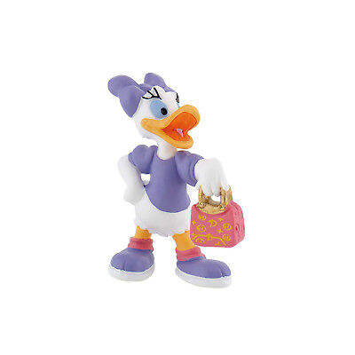 BULLYLAND DISNEY MICKEY MOUSE CLUBHOUSE FIGURE - Daisy Duck with Handbag