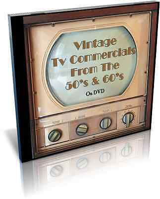 Ultimate Collection of Vintage TV Commercials From the 1950's and 1960's on DVD