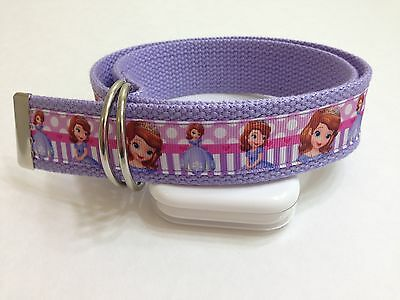 Sofia The First Inspired Girls Belt - Ribbon Belt - Girls Belt - Disney Princess