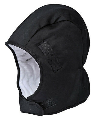 Winter thermal hard hat liner, helmet lining for hard hat, fridge work zero