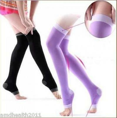 Womans Sleep - Yoga  Compression Socks Stockings Slimming Leg Shaper