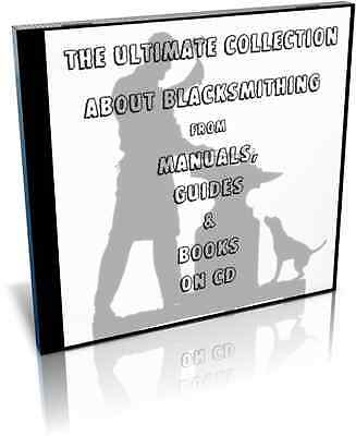 The Ultimate Collection About Blacksmithing and Metal Forging on CD