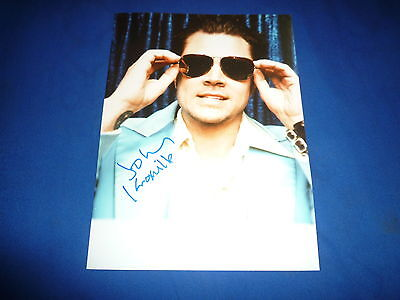 JOHNNY KNOXVILLE signed Autogramm 20x25 cm In Person JACKASS