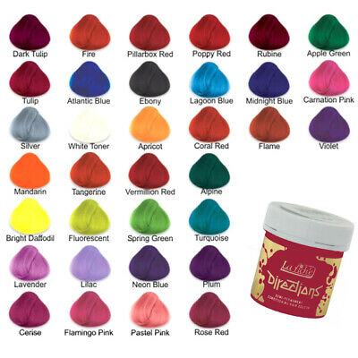 La Riche Directions Semi Permanent Hair Colour Dye All Colours