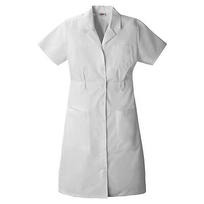 Dickies White Nursing Dress - 84500 - Medical Missy Fit Sizes Xs -2Xl