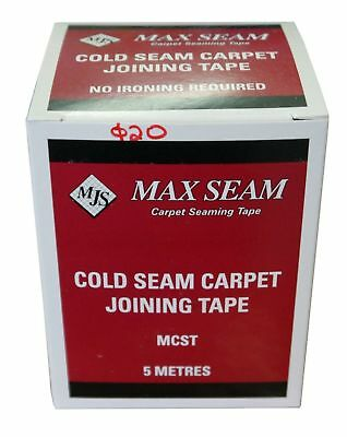 Carpet Laying Seaming Joining Tape 5m long Maxseam Cold Seam
