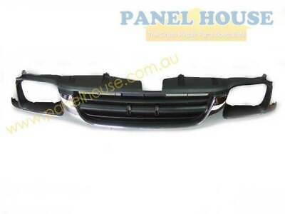 Holden Rodeo 98 - 02 Chrome Grille ( small headlight type ) Brand New