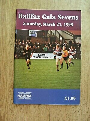 Gala Sevens 1998 Rugby Programme