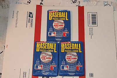 1986 Donruss  Baseball Packs!! Vintage unopened Lot.