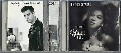 She by Harry Connick, Jr. (CD) & Unforgettable: With Love by Natalie Cole (CD)