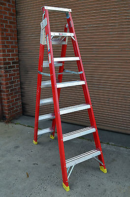 Dual Purpose Combination Fibreglass Step Ladder 2.15M / 3.88M NEW stock back