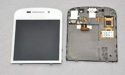 New OEM BlackBerry Q10 LCD Screen Display and Digitizer Touch screen White