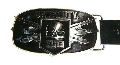 Call of Duty ELITE Metal Belt Buckle Officially Licensed By Activision