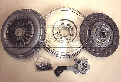 FOR FORD MONDEO MK3 2.0 TDCi TDDi DUAL to SOLID MASS FLYWHEEL CLUTCH KIT 6 SPEED