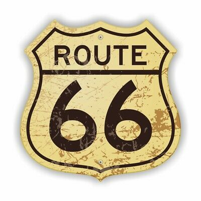 Route 66 Auto Aufkleber USA AMERIKA Sticker Hot Rod Motorrad car Mustang Tuning