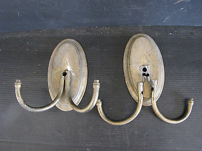 Pair Of 2 Arm Brass Wall Sconces (One Arms Are Not Connceted) 5880