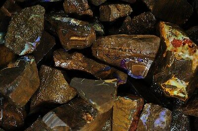 500 Carat Lot of RARE 1930's COLLECTION of Koroit Boulder Opal!