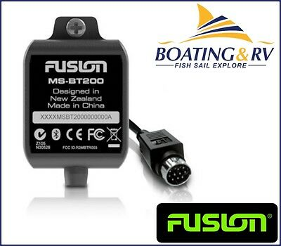 FUSION MS-BT200 Bluetooth Module. Wireless Audio for SIRIUS input marine radios